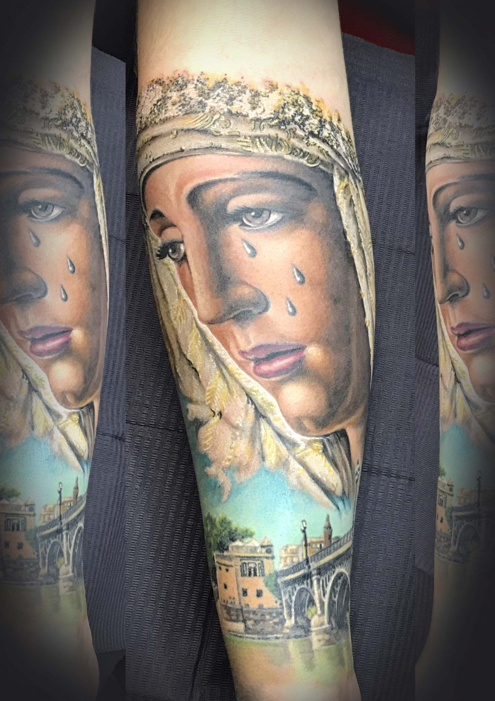 Virgen de Triana Tattoo