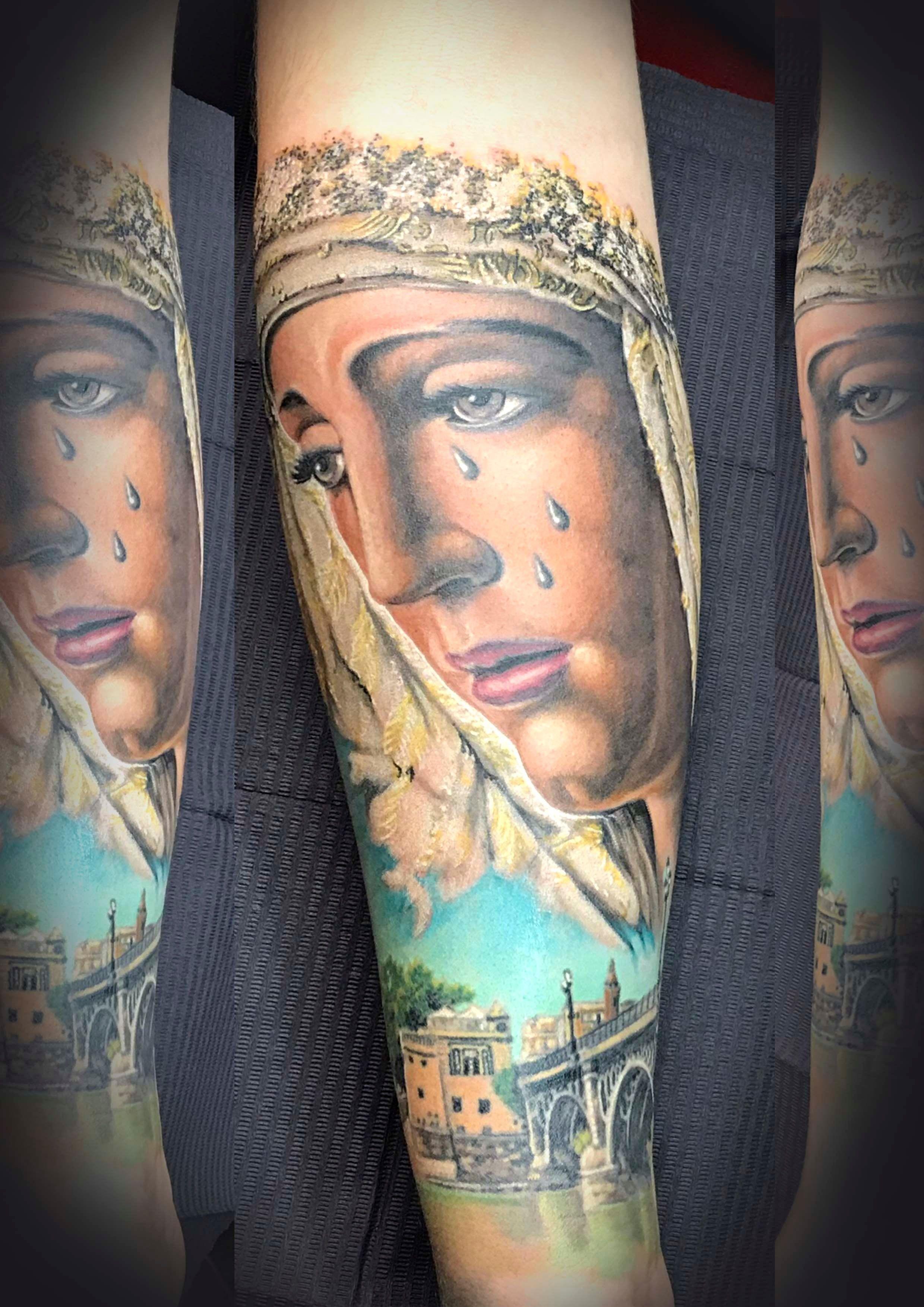 Virgen de Triana Tattoo